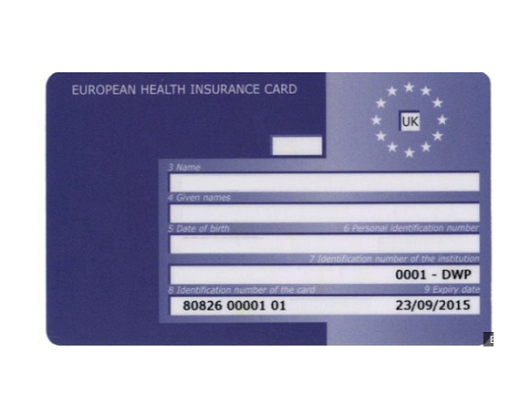 Brexit: What will happen to European Health Insurance Cards?